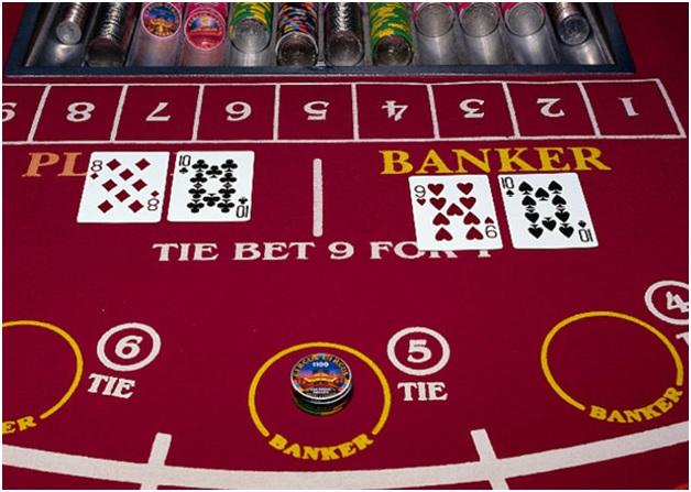 Cách kiếm tiền khi chơi baccarat online